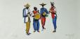 A cultura de sertões, rincões e litorais.