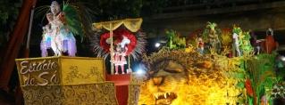 O carnaval na avenida – Estácio de Sá