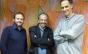 Jamil Maluf recebe Nelson Kunze e João Luiz Sampaio