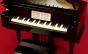 O som das caixinhas de música ao piano