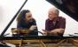 Pianista Nelson Ayres lança disco em parceria com violinista Ricardo Herz, em São Paulo