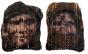 Eva Castiel exibe retratos de mulheres projetados em tecidos