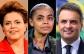 Dilma tem 39% dos votos, Marina, 31%, e Aécio, 15%, diz pesquisa Ibope
