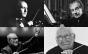 Henry Mancini, Lalo Schifrin, Ennio Morricone e Jerry Goldsmith
