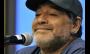 """Maradona troca presentes com árbitro que não viu a """"mão de Deus"""""""