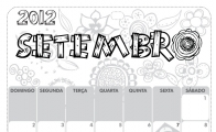Folhinha de Setembro 2012