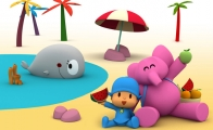 Pocoyo & Elly  2 - Wallpapers