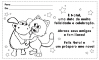 Carto de Natal do Timmy