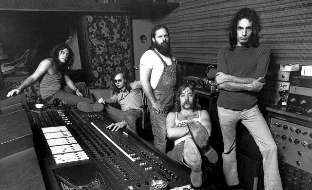 Steely Dan em foto do encarte do primeiro álbum de 1972