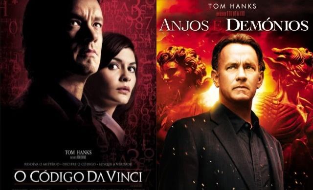 """Super 8 - """"Código da Vinci"""" e """"Anjos e demônios"""" Banner"""