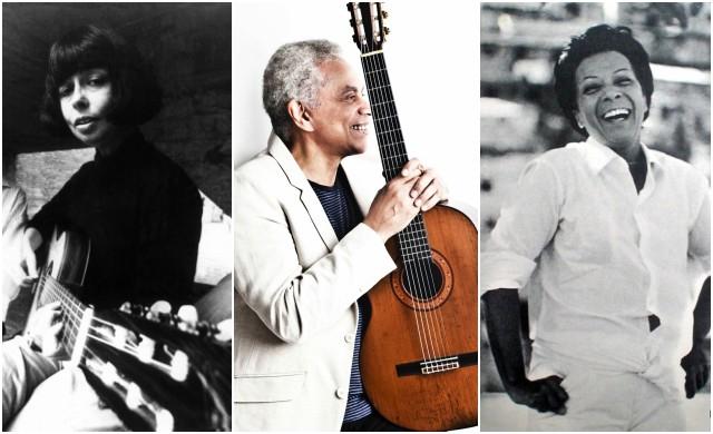 Nara Leão, Paulinho da Viola e Elizeth Cardoso