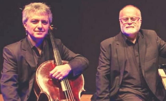 Hugo Pilger e Ney Fialkow (imagem: casa da música POA/divulgação)