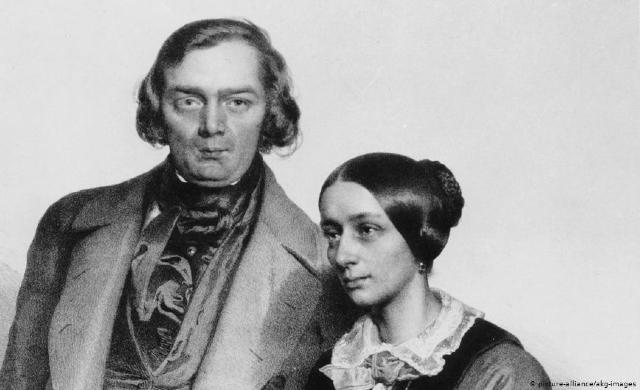 Robert e Clara Schumann (imagem: picture-alliance/akg images)
