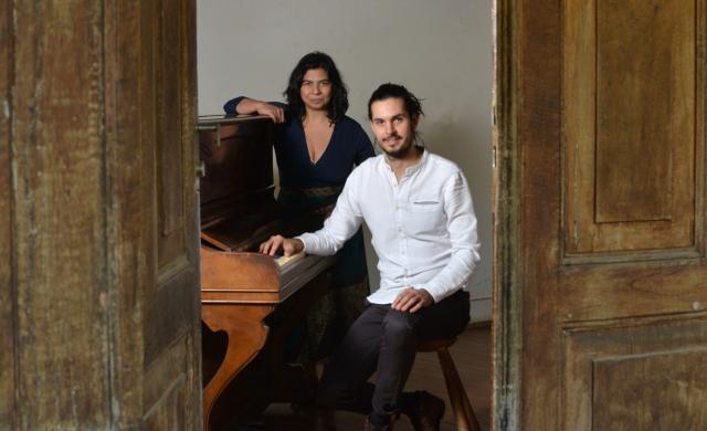 Verlucia Nogueira e Tiago Fusco (imagem: Reinaldo Meneguim)