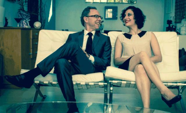 Lívia e Arthur Nestrovski (imagem: divulgação)