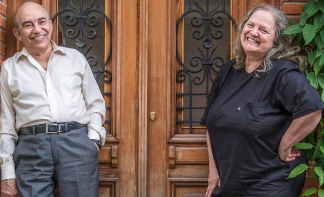 Lea Freire e Amilton Godoy (imagem: divulgação)