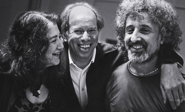 Martha Argerich, Gidon Kremer, Mischa Maisky (imagem: Deustche Grammophon)