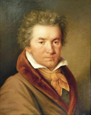 Retrato Ludwig van Beethoven