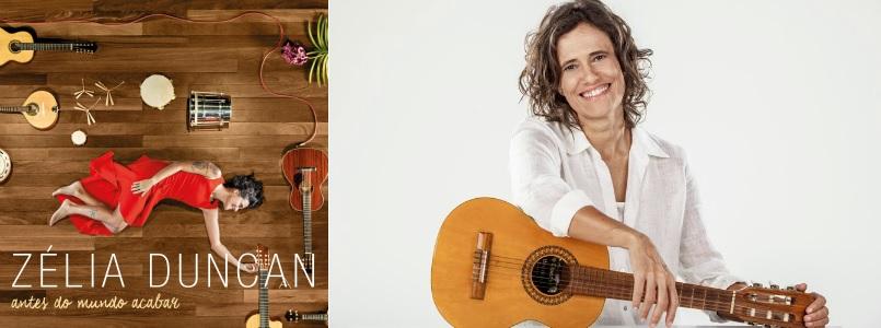 Resultado de imagem para zélia duncan canta samba em sp