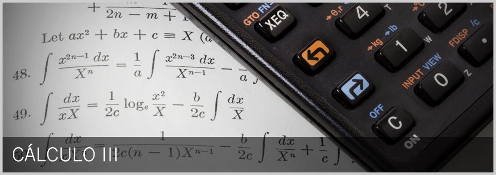 Cursos USP - Cálculo III