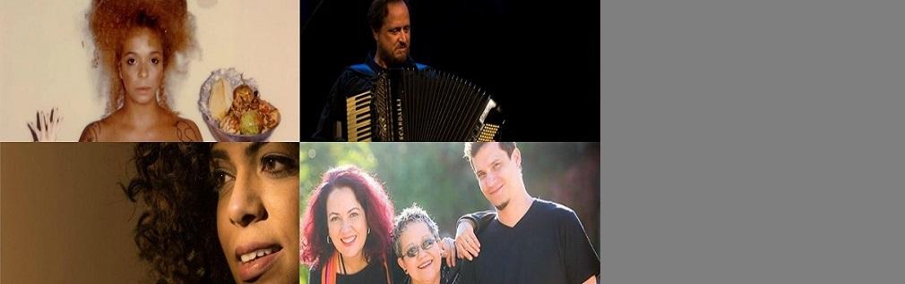 Anelis Assumpção, Gabriel Levy, Camila Yasmine e Lúdica Música. Domingo, às 14h!
