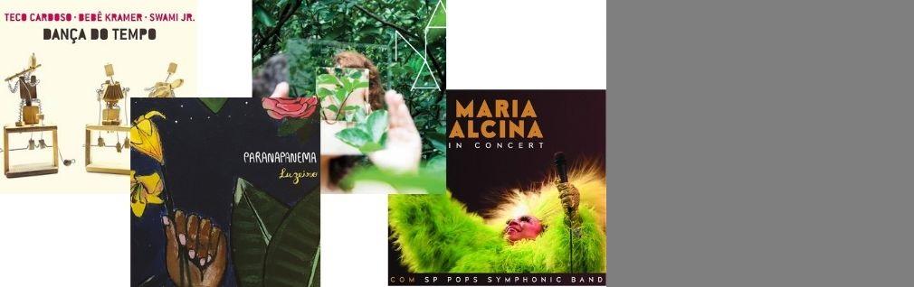 Dança do Tempo, ANA, Luzeiro e Maria Alcina in Concert