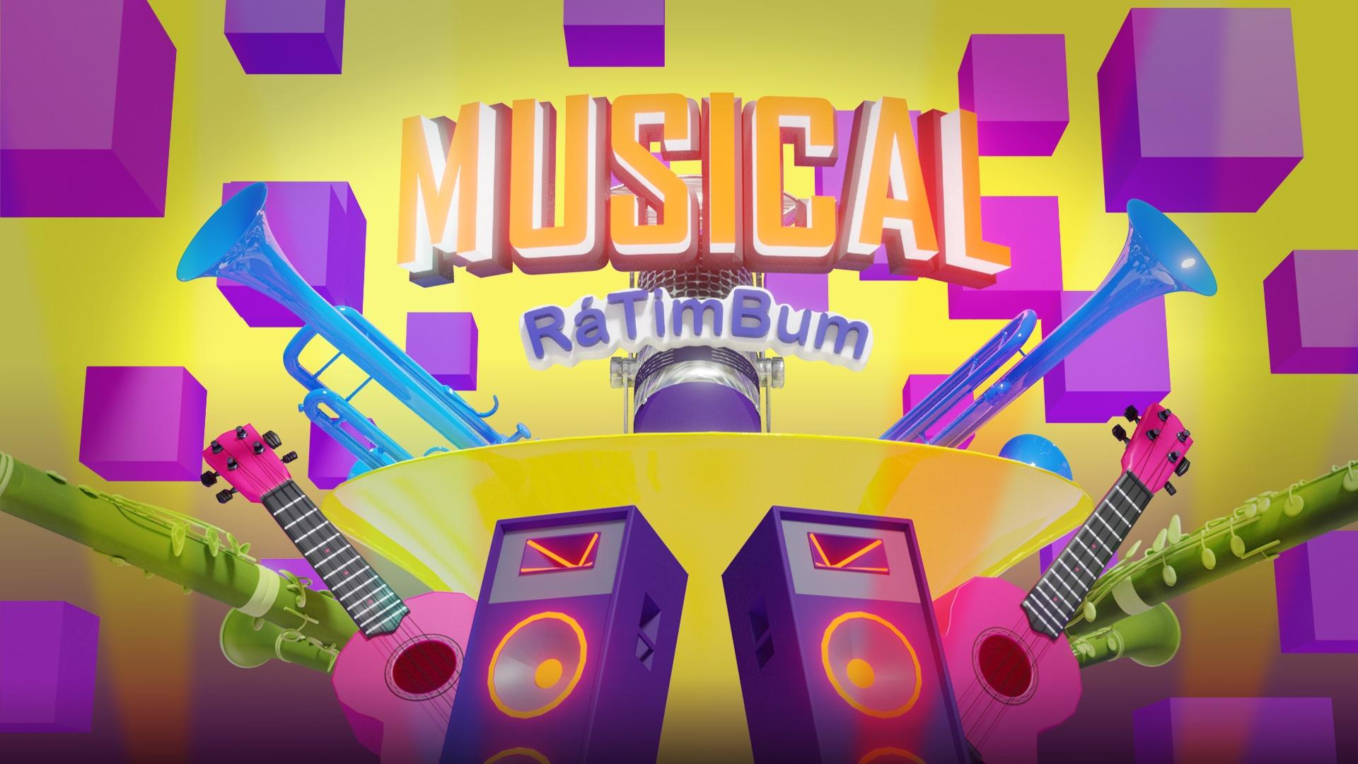 Musical Rá Tim Bum (Vai ter Show do Badulaque)